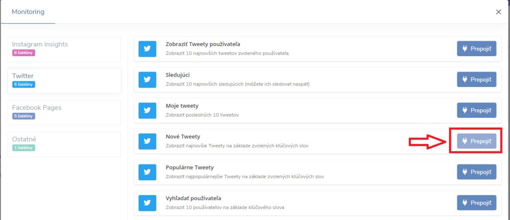 Nové Tweety na Twitteri